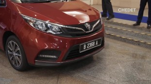 2019 Proton Iriz facelift Dr Mahathir 3