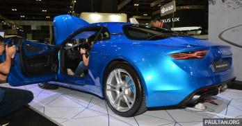 Alpine A110-Singapore Motor Show 2
