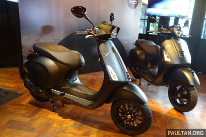 2019 Vespa Notte Edition for GTS Super 300 ABS and Sprint