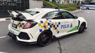 Honda Civic Type R PDRM fb 2