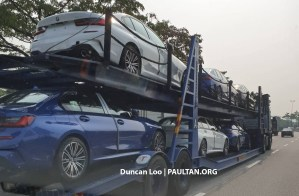 G20 Bmw 3 Series Spotted In Malaysia 330i M Sport