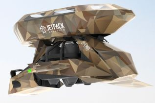 Jetpack Aviation Speeder BM-2