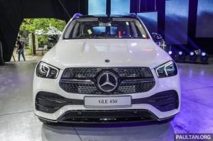 Mercedes GLE 450 Launch-4-BM