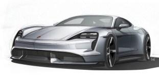 Porsche Taycan sketches 1