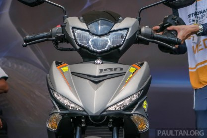 2019 Yamaha Y15ZR shown in Malaysia - price in April