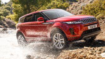 2019 Range Rover Evoque press photo 24