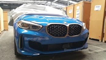 F40 BMW 135i xDrive leak 2