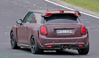 Spyshots 2020 Mini Jcw Gp On The Road And Circuit