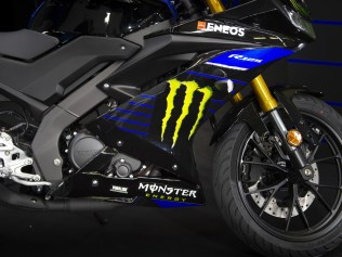 2019 Yamaha YZF-R125 Monster Energy MotoGP Detail - 3
