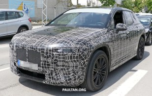 BMW iNEXT spyshots 2