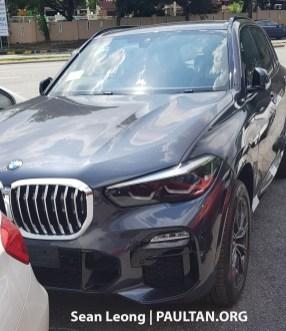 G05 BMW X5 Malaysia spyshots 1