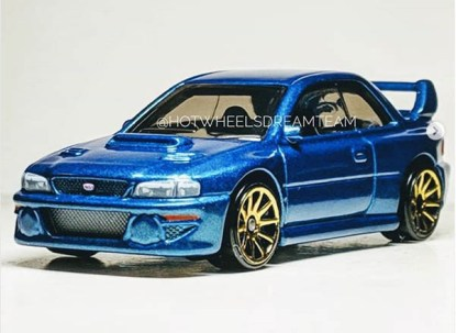 Hotwheels Subaru Impreza 22B_1