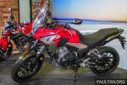 2019 Honda CB500X launch-1
