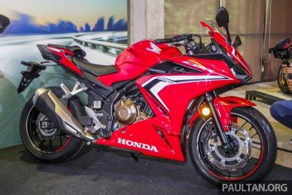 2019 Honda CBR500R launch-1
