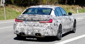 2020 G80 BMW M3 Spyshot with interior_20