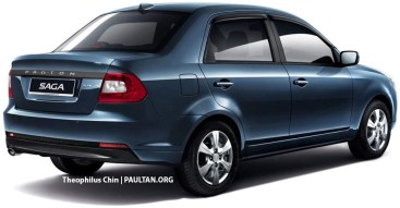 Proton Saga FLX redesign 2