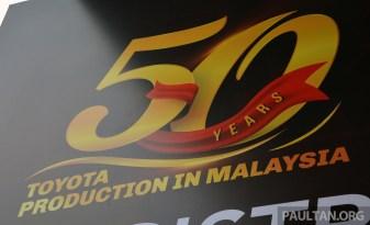 Toyota 50 Years Malaysia 2