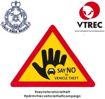 VTREC-PDRM Vehicle Theft Awareness Campaign logo