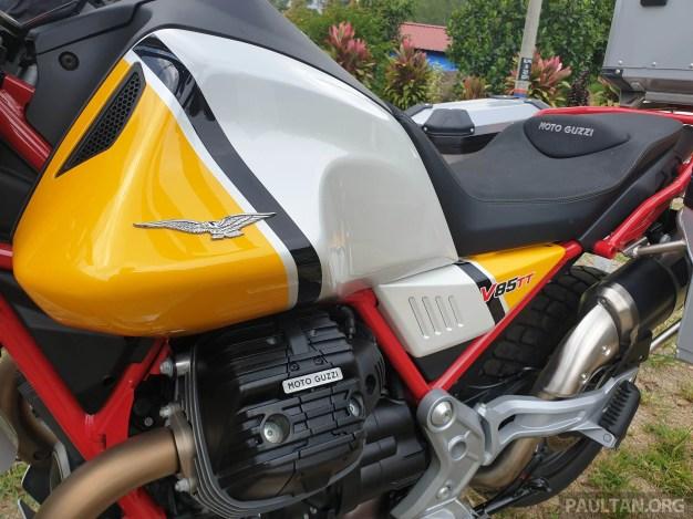 2019 Moto Guzzi V85 TT Malaysia Launch - -15