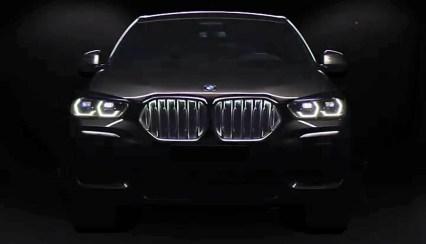 G06 BMW X6 official teaser 2