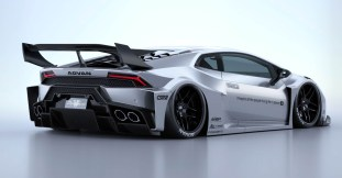 Lamborghini Huracan Liberty Walk Works GT kit 3