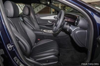 Mercedes-Benz W213 E200 SportStyle Avantgarde Malaysia 2019_Int-23 BM