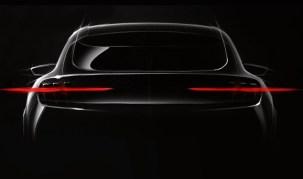 Ford Mach E teaser
