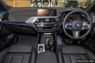 2019 BMW Malaysia X3 xDrive30i M Sport_Int-1