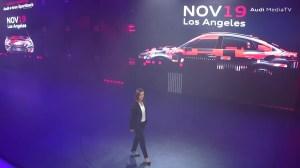 Audi e-tron teaser IAA 2