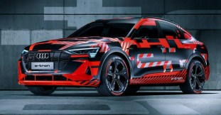 Audi e-tron teaser IAA 4