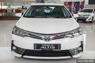 Toyota Malaysia Corolla Altis 1.8G 2018 Showroom_Ext-4