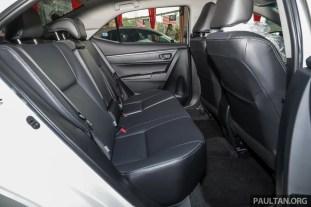 Toyota Malaysia Corolla Altis 1.8G 2018 Showroom_Int-17
