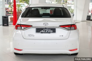 Toyota Malaysia Corolla Altis 1.8G 2019 Showroom_Ext-5 BM