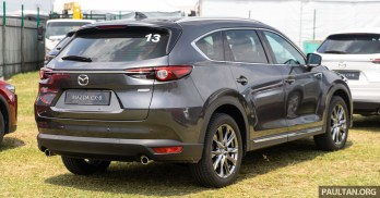 2019 Mazda CX-8 CKD Rollout in Kulim_Exterior-10