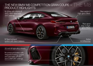 F93 BMW M8 Competition 60