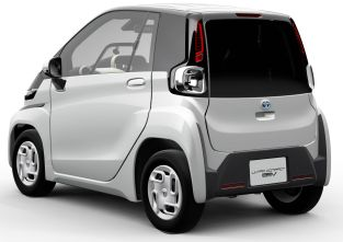Toyota ultra-compact BEV 2