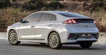 2020 Hyundai Ioniq facelift in LA