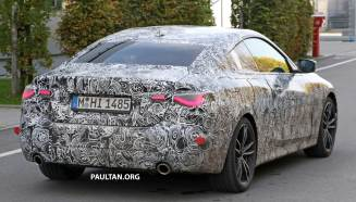 BMW G23 4 Series Coupe spied-9