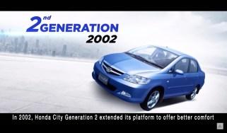 Honda City sedan-second-gen