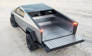 Tesla Cybertruck unveiled - space-age design electric pick-up with ...