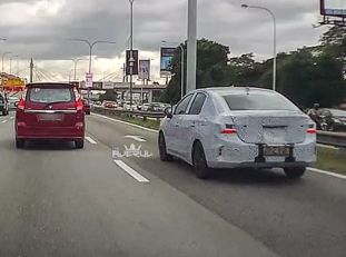 Honda City spyshots The Ajerul 3