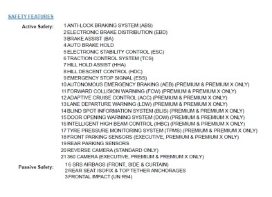Proton X70 Marii EEV label 2