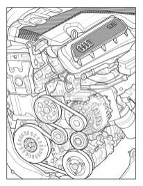 Audi Colouring Book 10