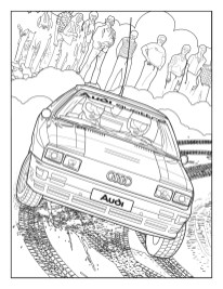 Audi Colouring Book 9
