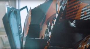 Lamborghini Squadra Corse V12 track car teaser-2