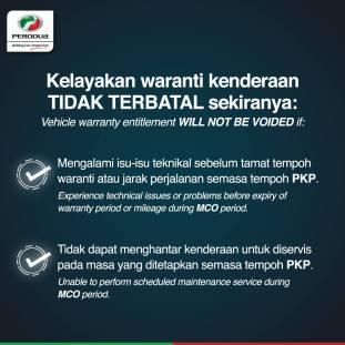 Perodua MCO Warranty 1