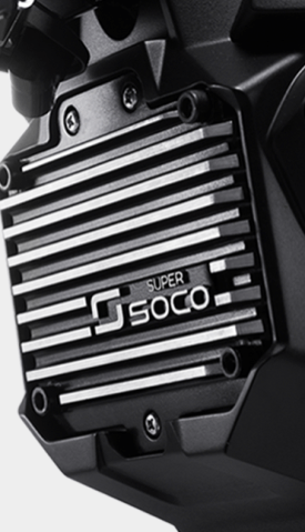 2020 Super Soco electric motorcycle - 10