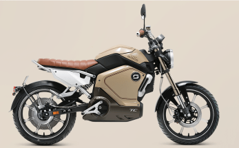 2020 Super Soco electric motorcycle - 2
