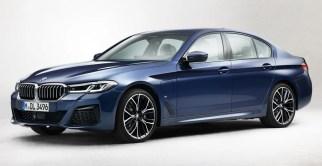 2021 G30 BMW 5 Series LCI Facelift 01