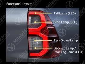 2021 Toyota Hilux facelift leak 3